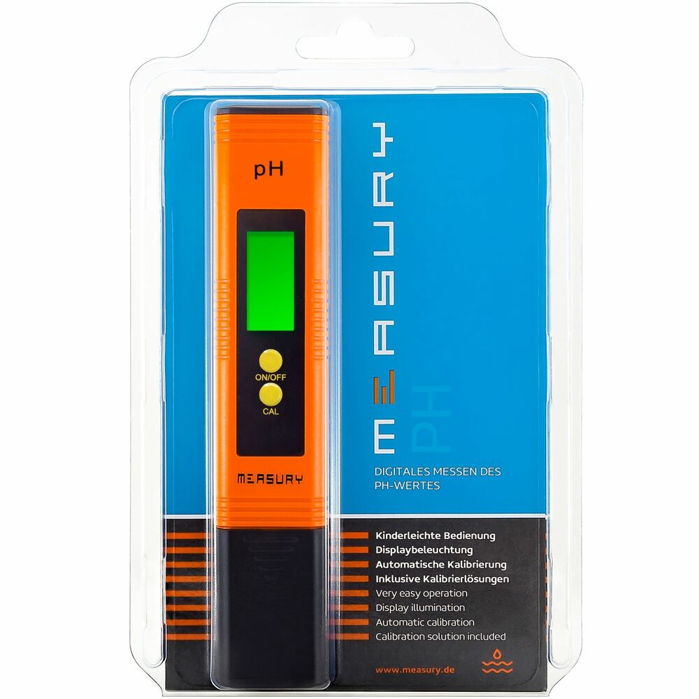 measury ph messger t f r das aquarium ph tester urin ph wert messger t pool ebay. Black Bedroom Furniture Sets. Home Design Ideas