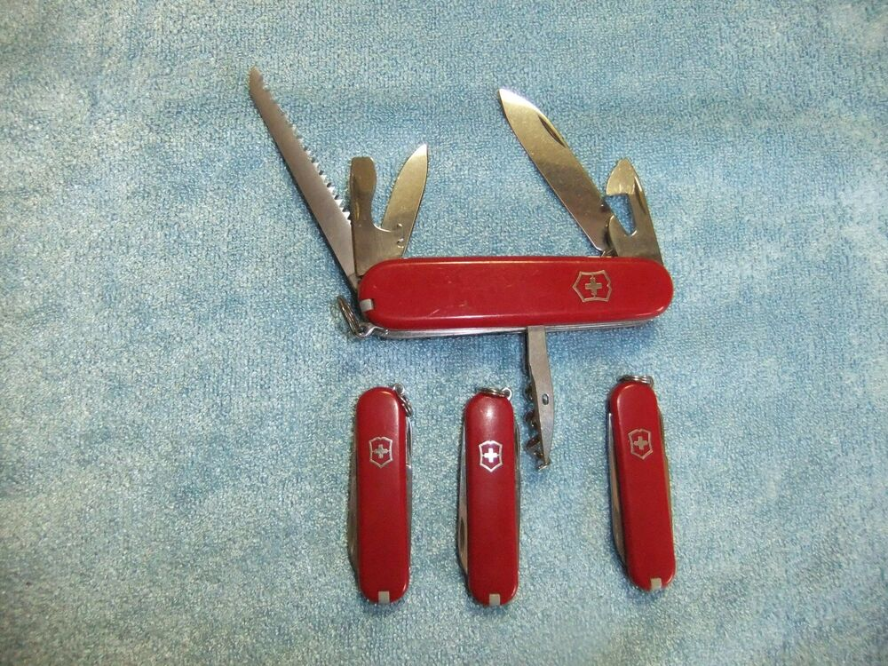 Victorinox Swiss Army Knives Camper Model 3 Classic