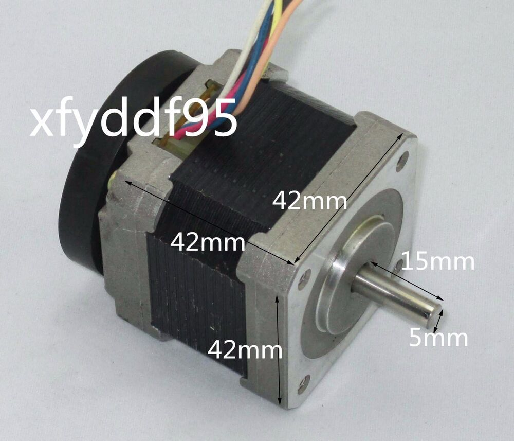 1 8 2 phase 6 wire 42 stepping motor stepper motor 15mm for 3 phase stepper motor