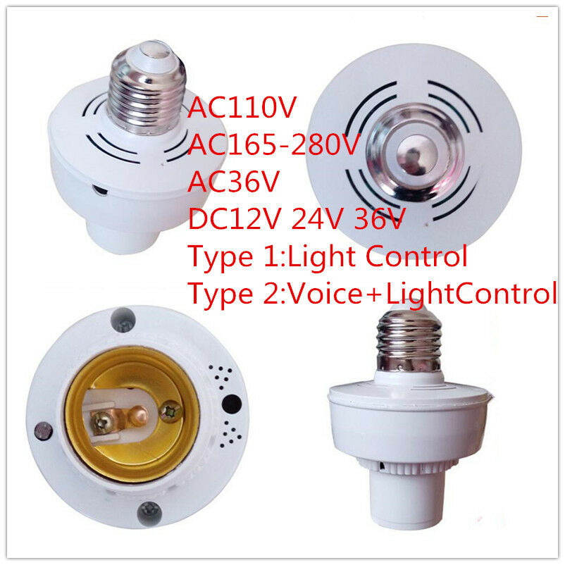 Dusk To Dawn Photocell Light Control Auto Sensor Light