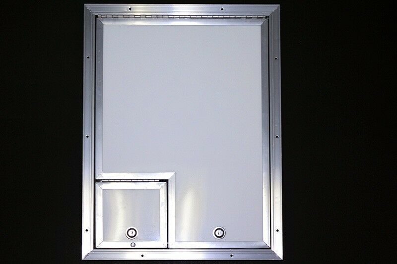 16 X 22 Fiber Optic Splicing Door W 6 X 6 Cable Door Ebay