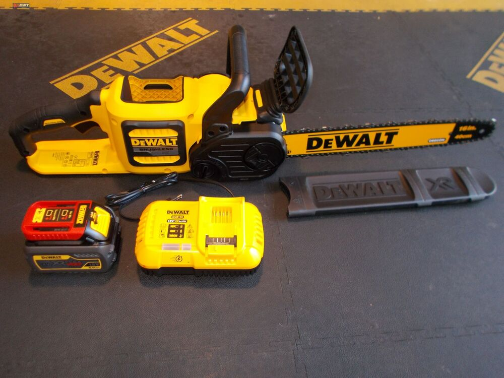dewalt dcm575x1 54v flexvolt tron onneuse sans fil sur batterie 18v 9ah 54v 3a ebay. Black Bedroom Furniture Sets. Home Design Ideas