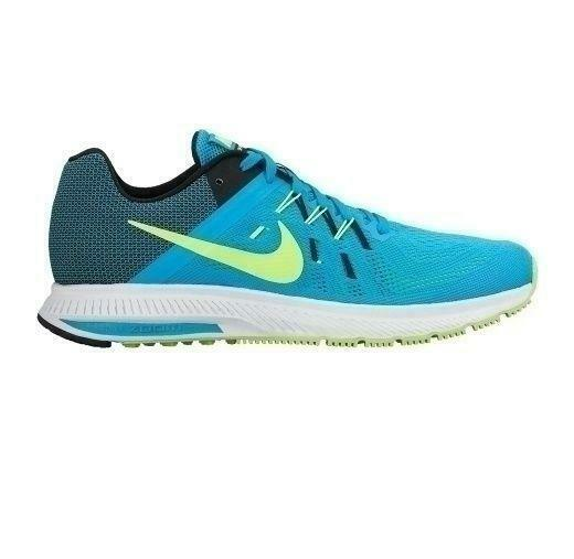 Details about Mens NIKE ZOOM WINFLO 2 Blue Lagoon Running Trainers 807276  401 ae309ed504ab