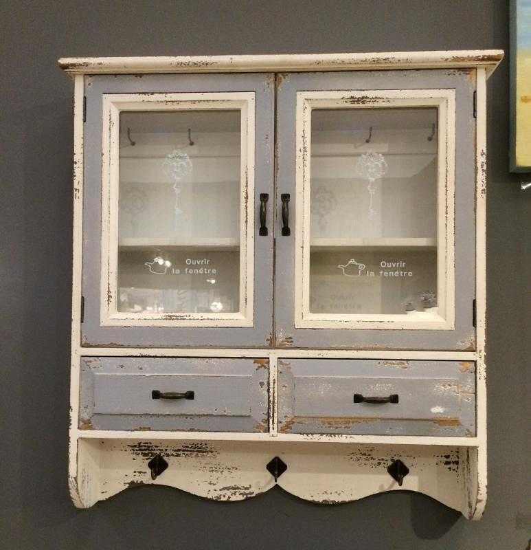 kitchen wall display cabinets vintage wall display cabinet cupboard furniture shabby 6418