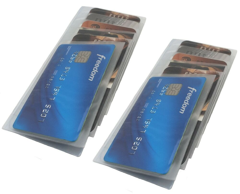 Set Of 2 Wallet Inserts Replacement Picture Or Credit Card
