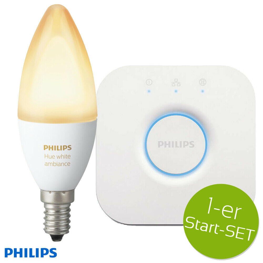 alle Weißsch dimmbar Philips Hue White Ambiance E27 LED Lampe Erweiterung