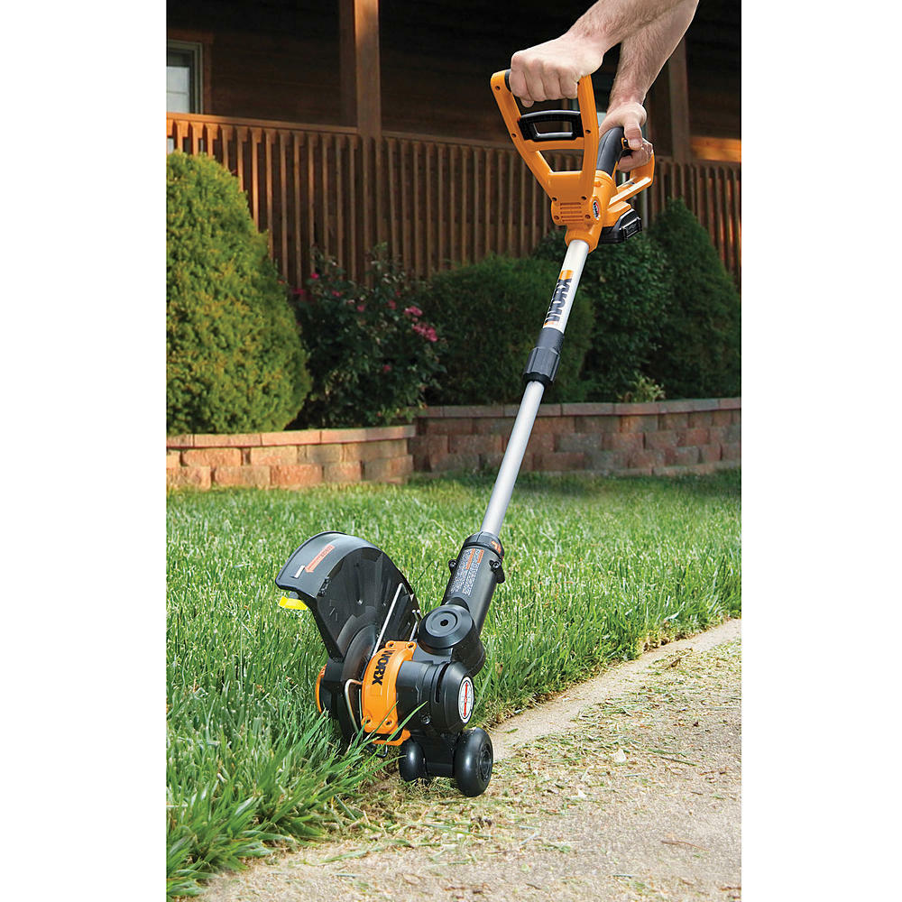 Worx 10 Quot 20v Li Ion Cordless Powerful Grass Weeds Lawn