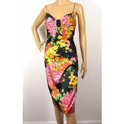 NWT DAVID MEISTER GORGEOUS FLORAL SILK PARTY DRESS 6