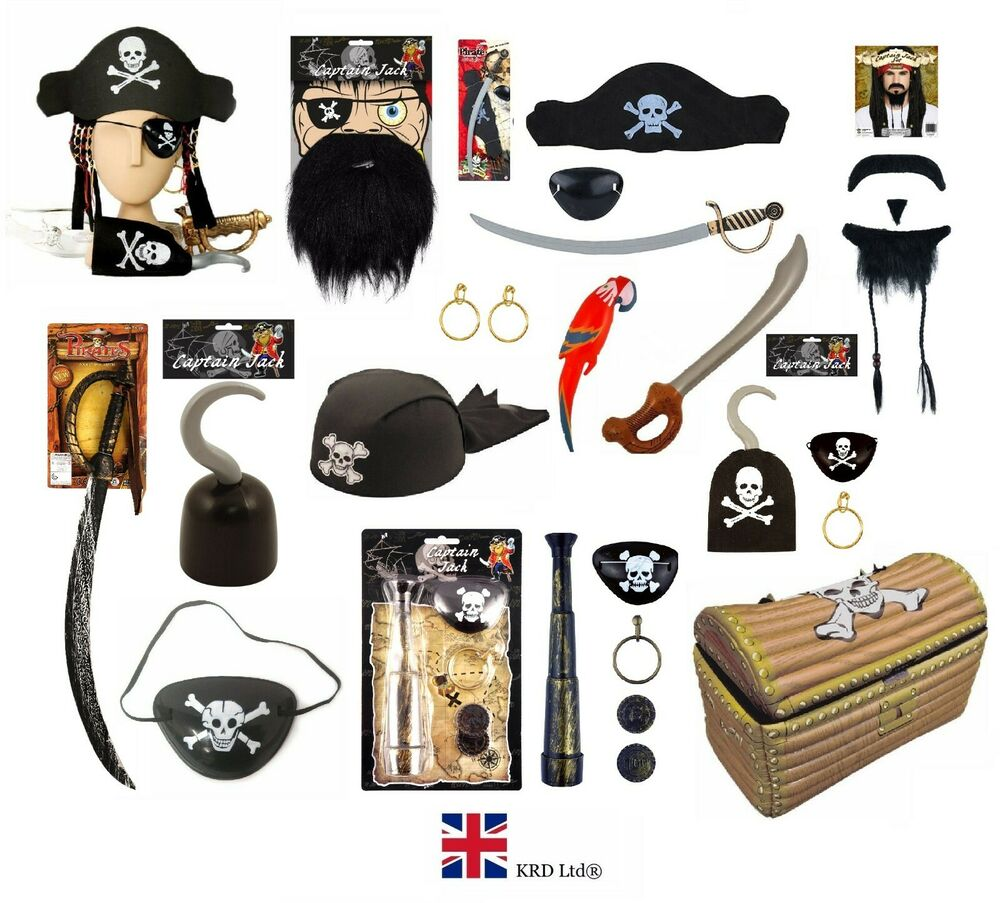 Pirate Toys For Boys : Pirate fancy dress costume accessory party toy up