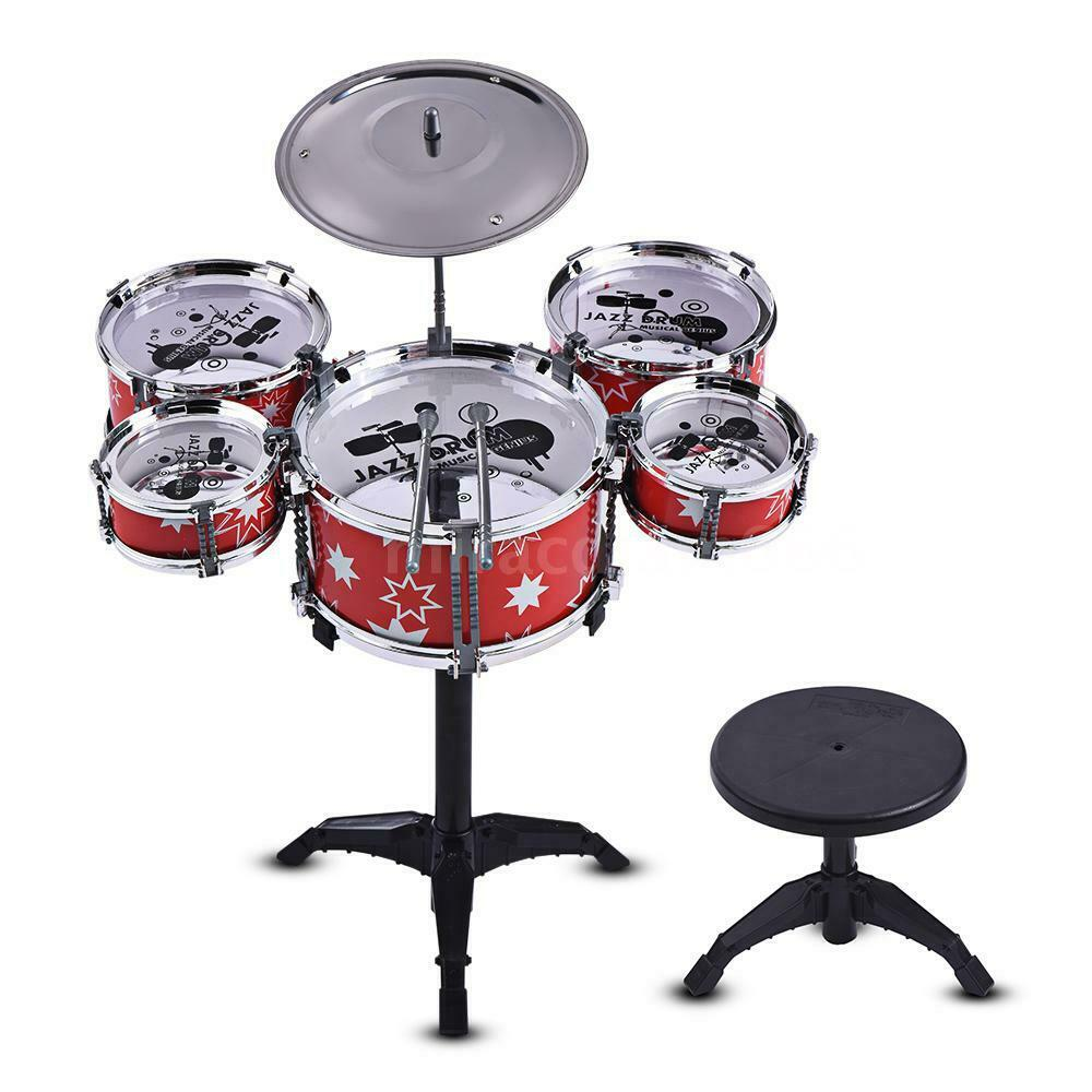 children kids drum set 5 drums for beginners above 3 years old z6l1 ebay