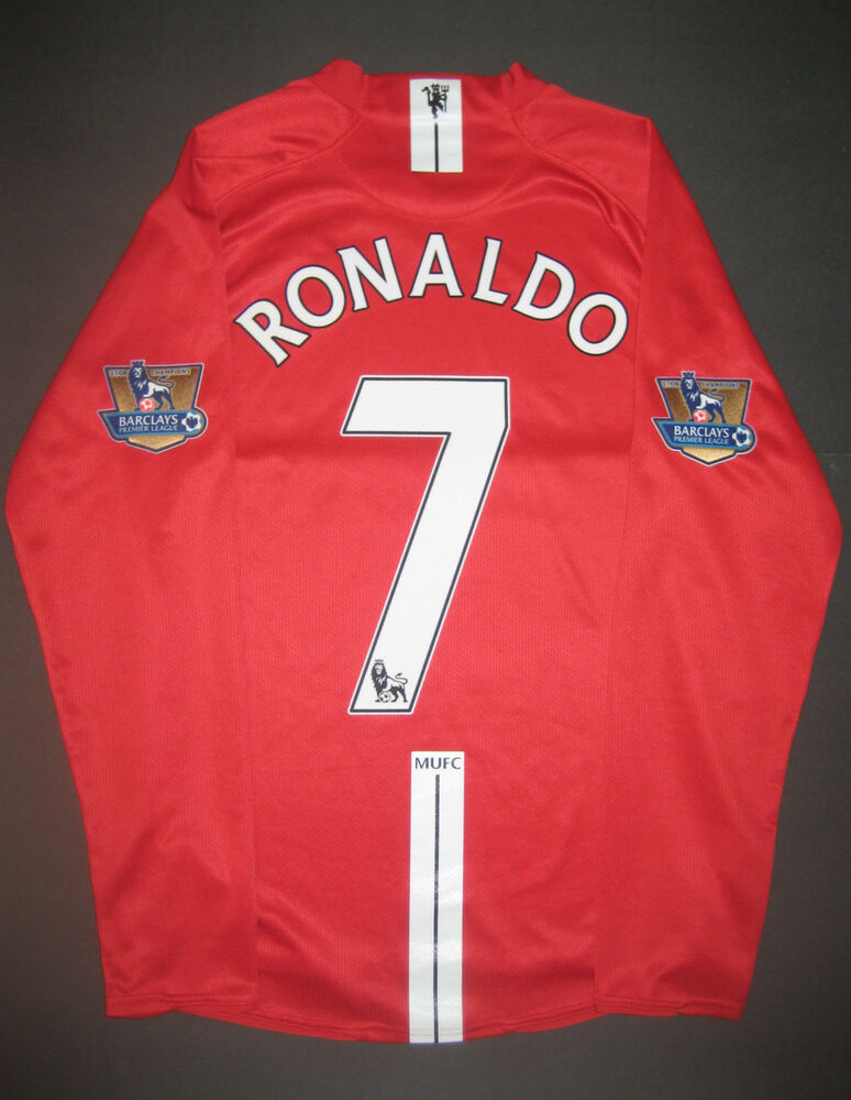 new style 76322 9a22a Ronaldo manchester united jersey ebay philippines