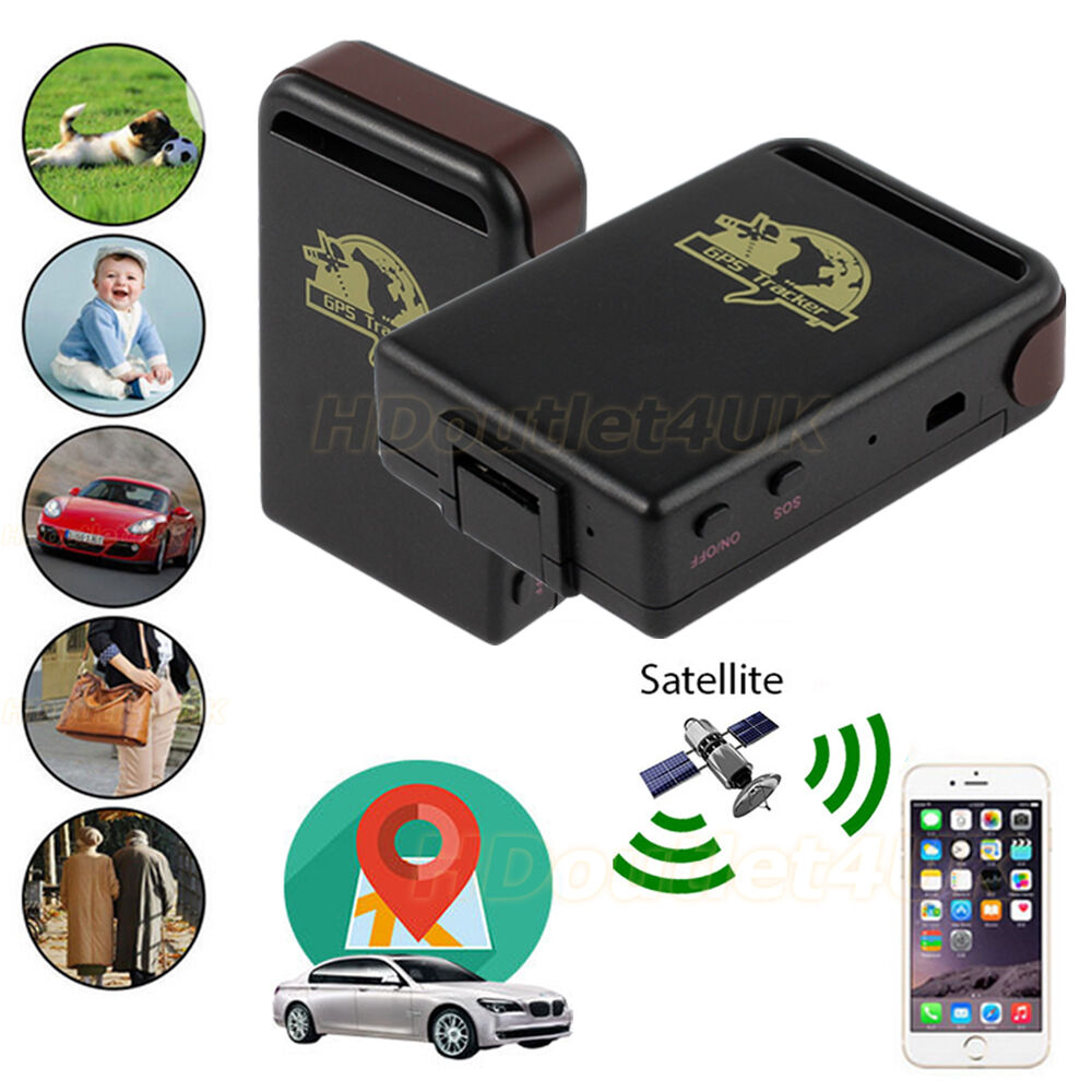 tk102 car gps tracker vehicle spy mini personal magnetic. Black Bedroom Furniture Sets. Home Design Ideas