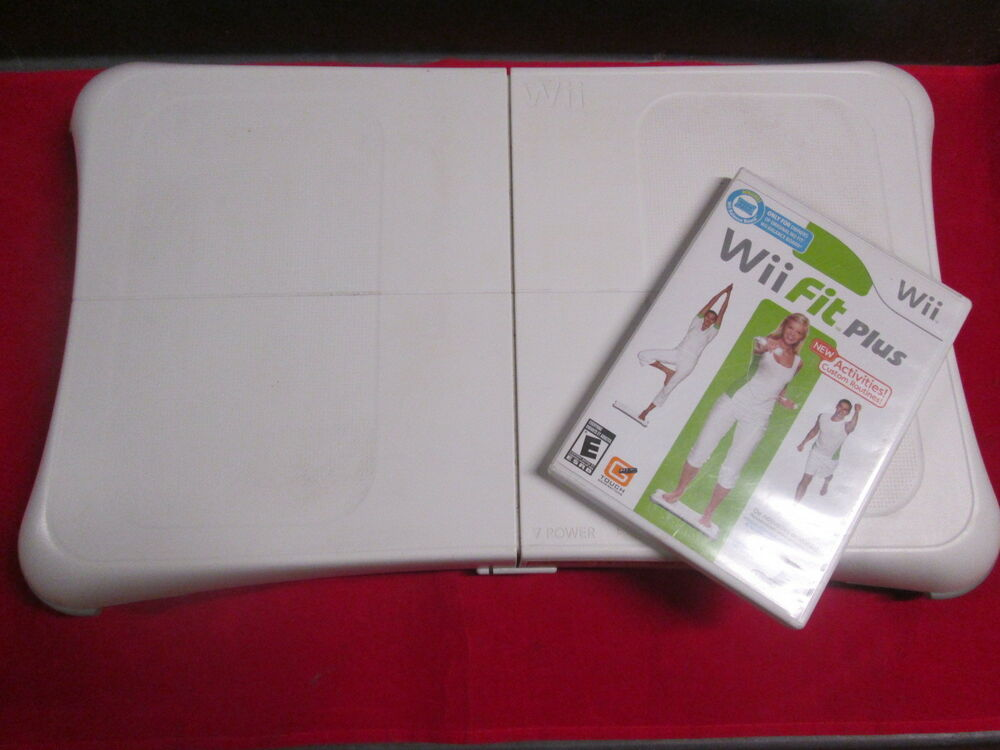 Wii Fit Plus With Balance Board Very Good 1111 52463606534 ...