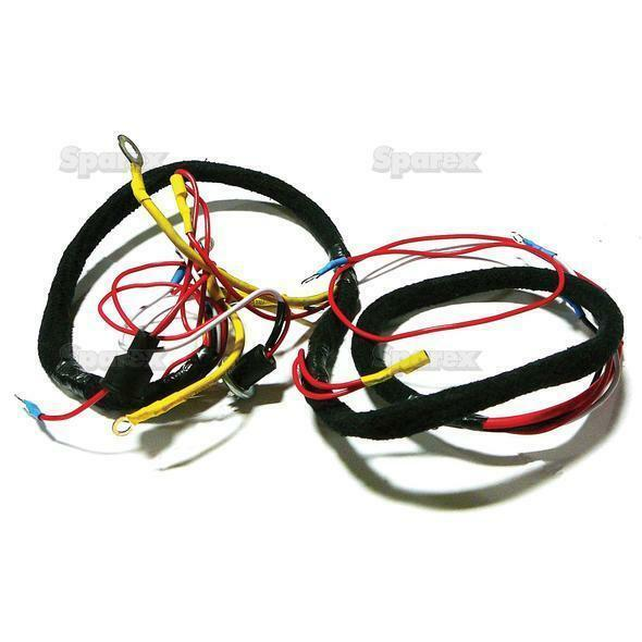 ford tractor main wiring harness 501 601 701 801 901 2000. Black Bedroom Furniture Sets. Home Design Ideas