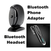 Bluetooth Phone Adapter for Landlines - Hands-free - Answer Calls Anywhere!