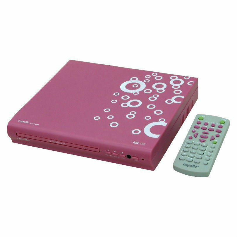 Capello compact dvd player with remote 1080p divx xvid for Div player
