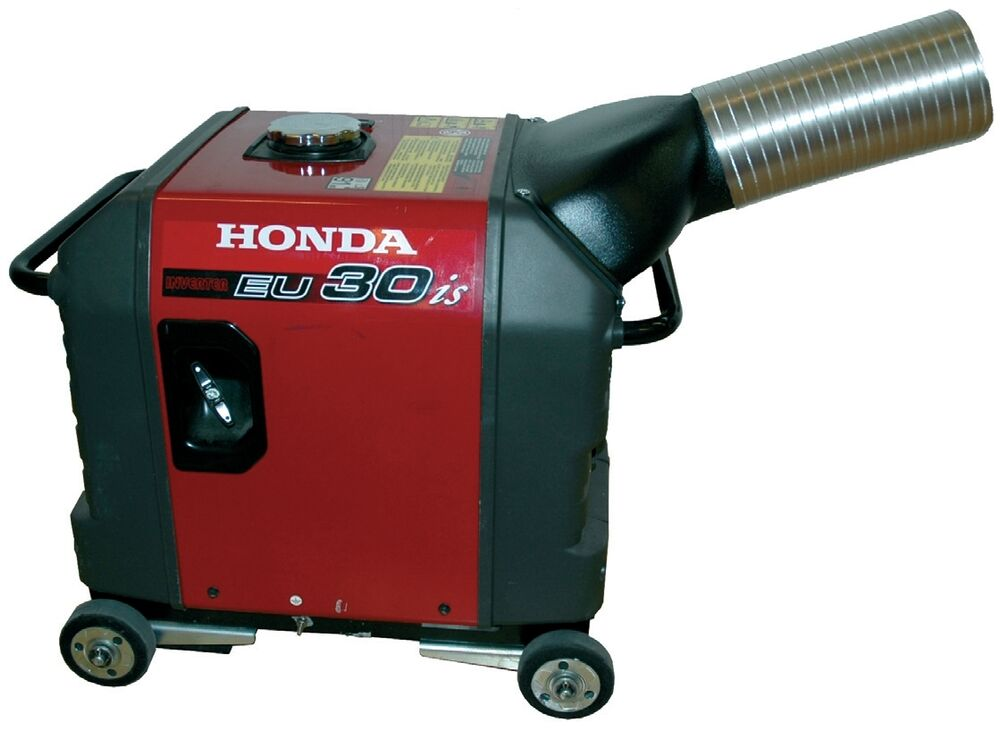 generator exhaust honda eu3000is generator exhaust system directs exhaust outside enclosure