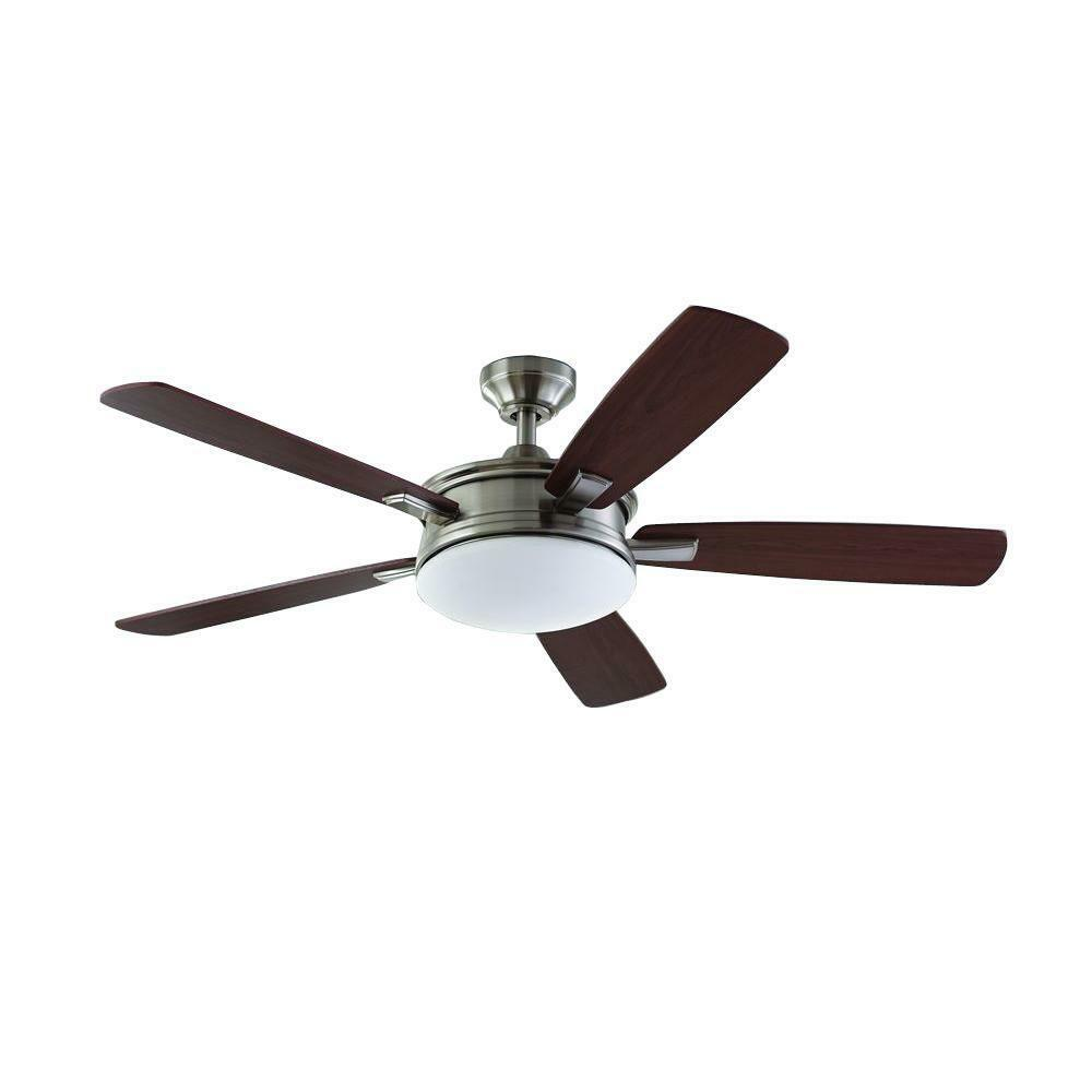 Daylesford 52 In Led Brushed Nickel Ceiling Fan