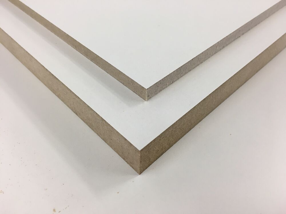 White melamine mdf sheets shelf board