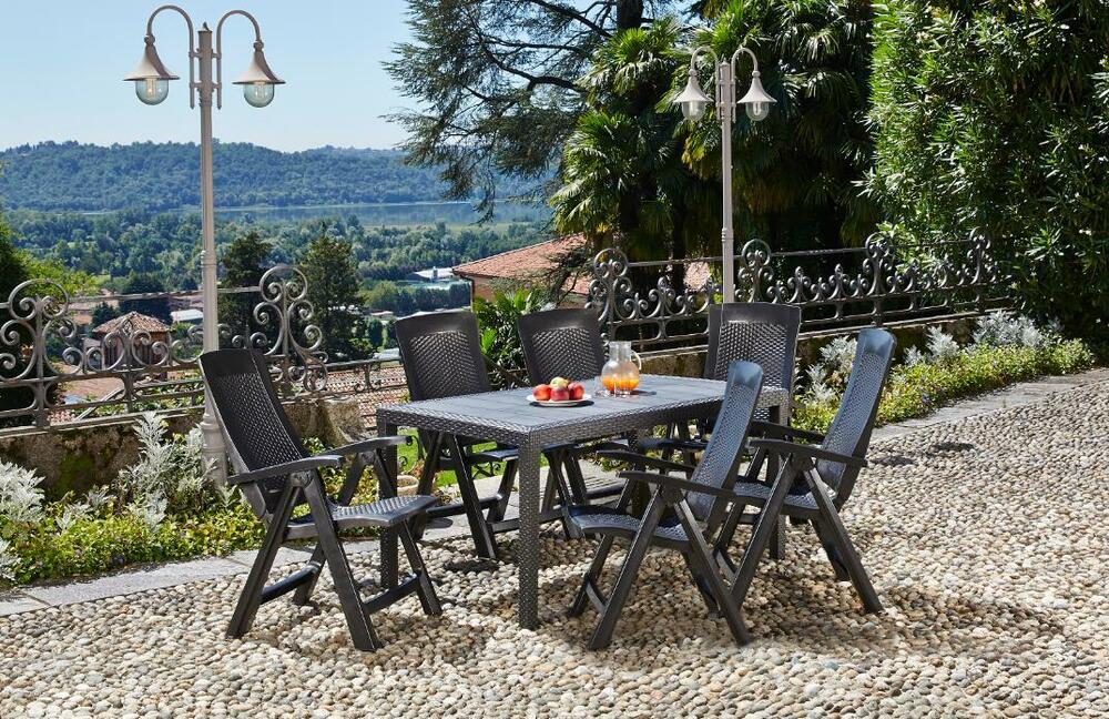 gartenm bel set garten sitzgruppe gartengarnitur lounge gruppe wetterfest ted ebay. Black Bedroom Furniture Sets. Home Design Ideas