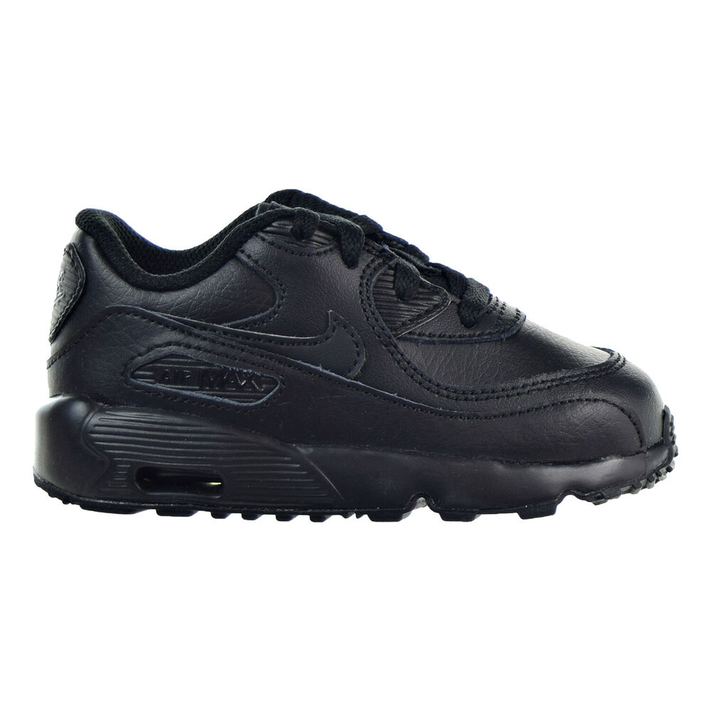 637a1533dfc Details about Nike Air Max 90 LTR (TD) Toddler Shoes Black Black 833416-001