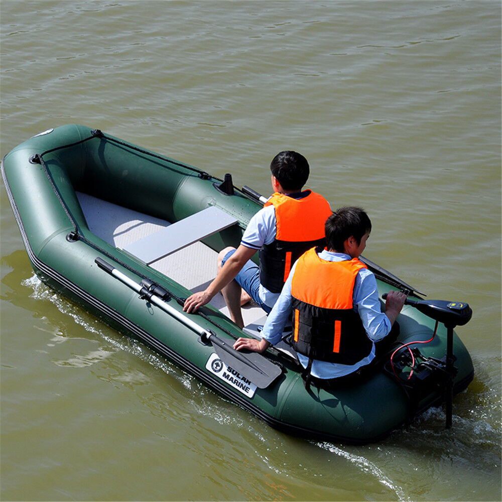 4 person inflatable kayak boat 2 7m fishing tender poonton for Two man fishing boat