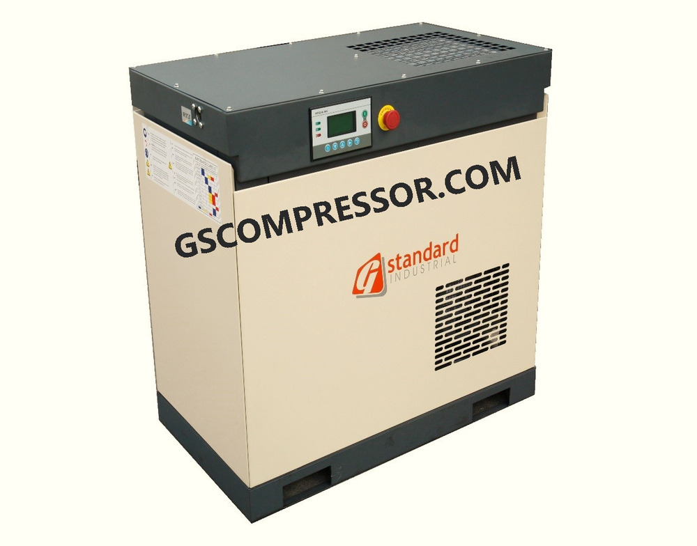 New Gs 10hp Single Phase Screw Rotary Compressor Air Pump