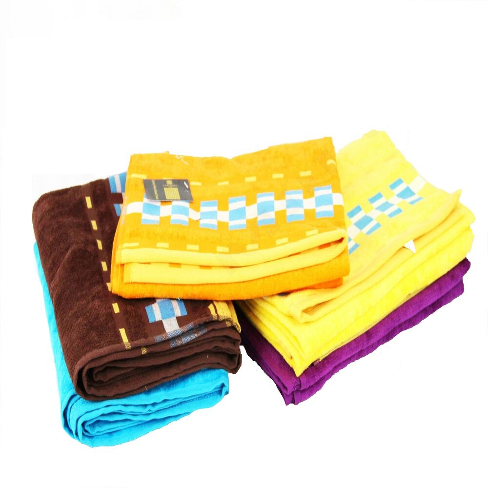 Luxury Christmas Kitchen Towels: Luxury 100% Cotton Combed Beach Towel Holiday Sun Bath