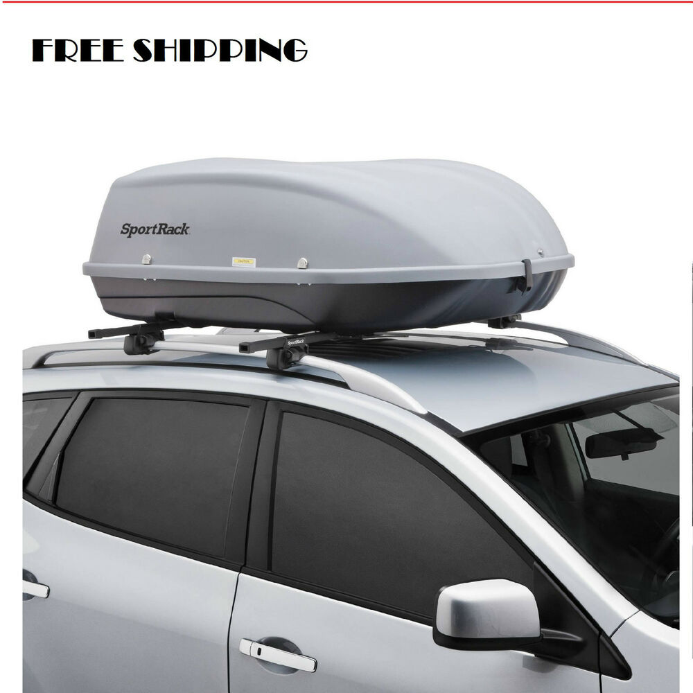 Car Cargo Box Roof Top Carrier Mount Travel Storage ...