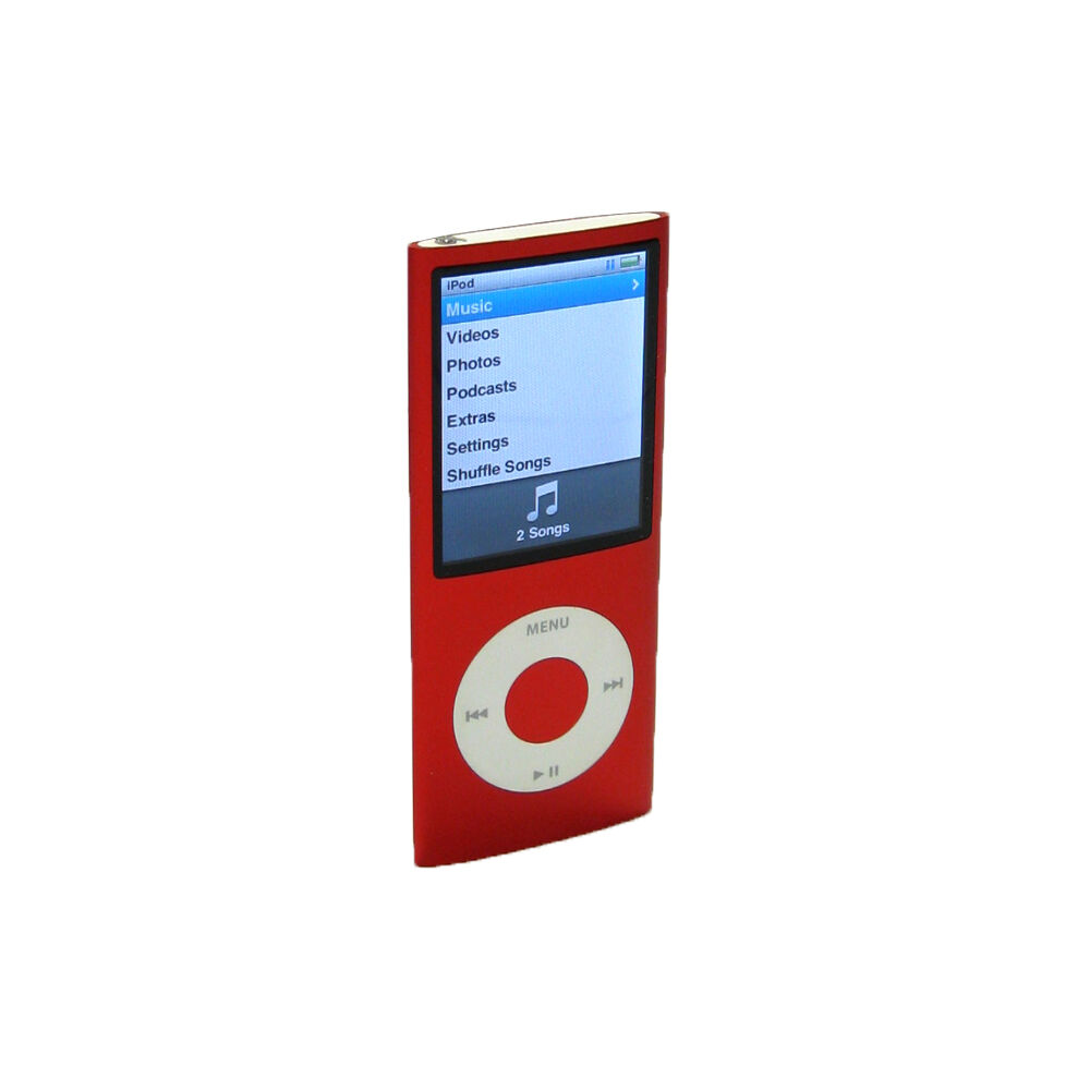 apple ipod nano 4th generation 4 gb red product brand. Black Bedroom Furniture Sets. Home Design Ideas