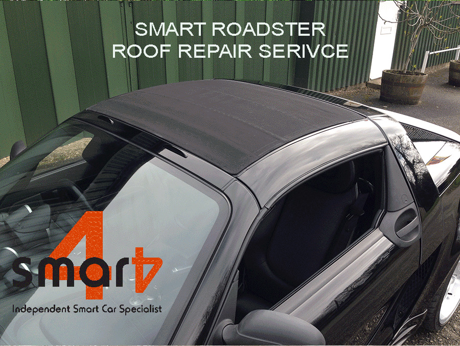 smart roadster roof folding soft top repair service ebay. Black Bedroom Furniture Sets. Home Design Ideas