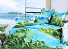 New Reactive Dying Long King/Queen Size Quilt Cover Set Set 210x240cm