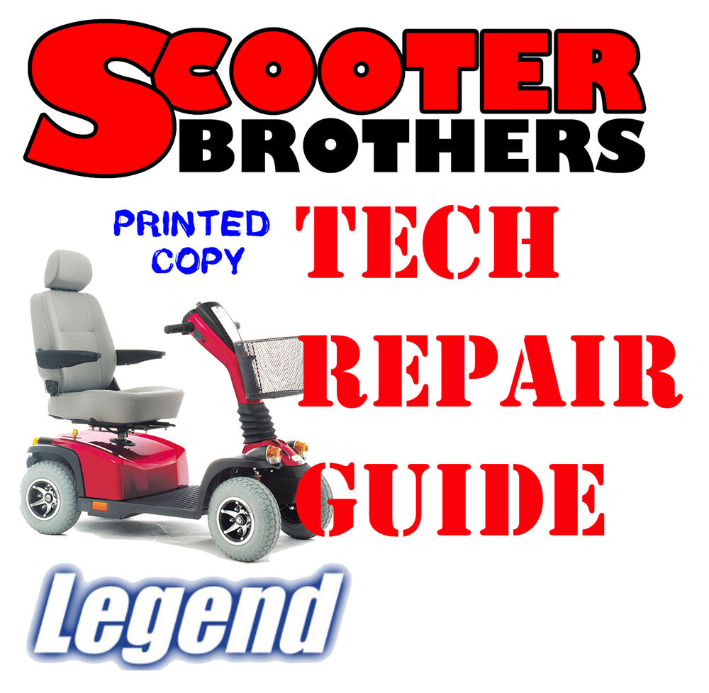 ULTIMATE SERVICE GUIDE For Pride LEGEND Scooter Technical Repair Manual |  eBay