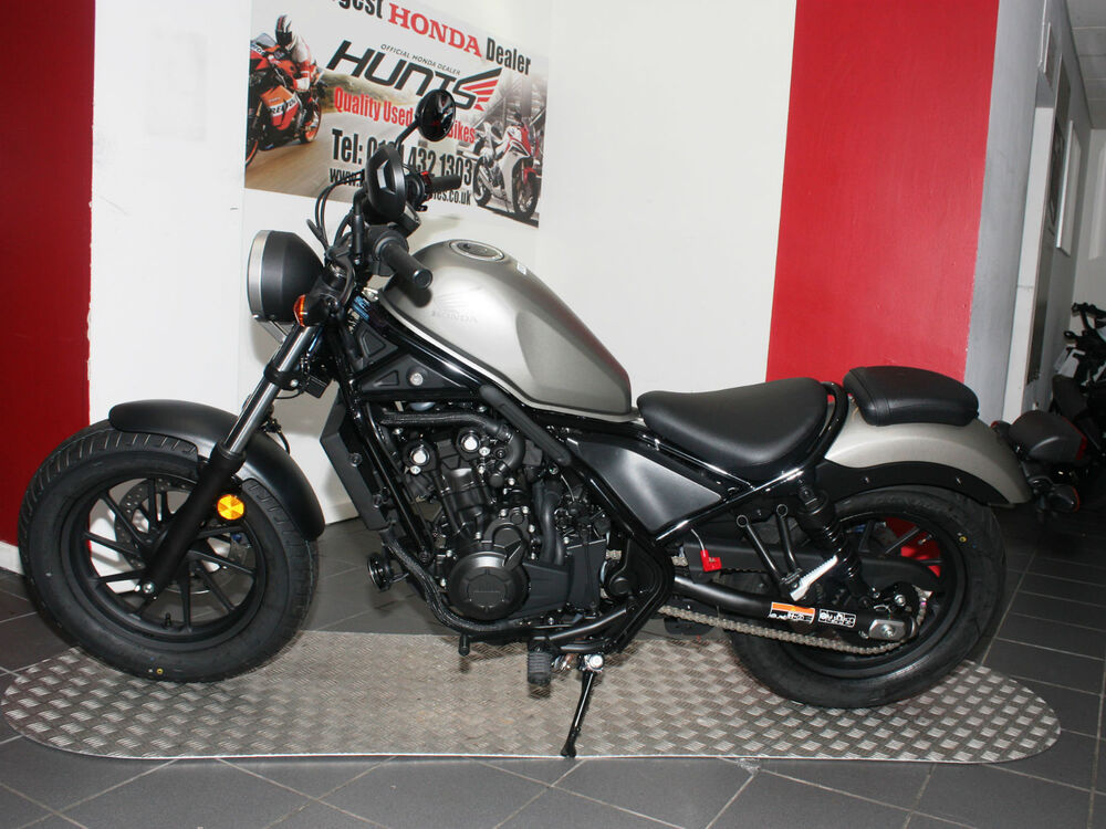 new honda cmx500 rebel bobber abs in silver 5 145 on the road ebay. Black Bedroom Furniture Sets. Home Design Ideas