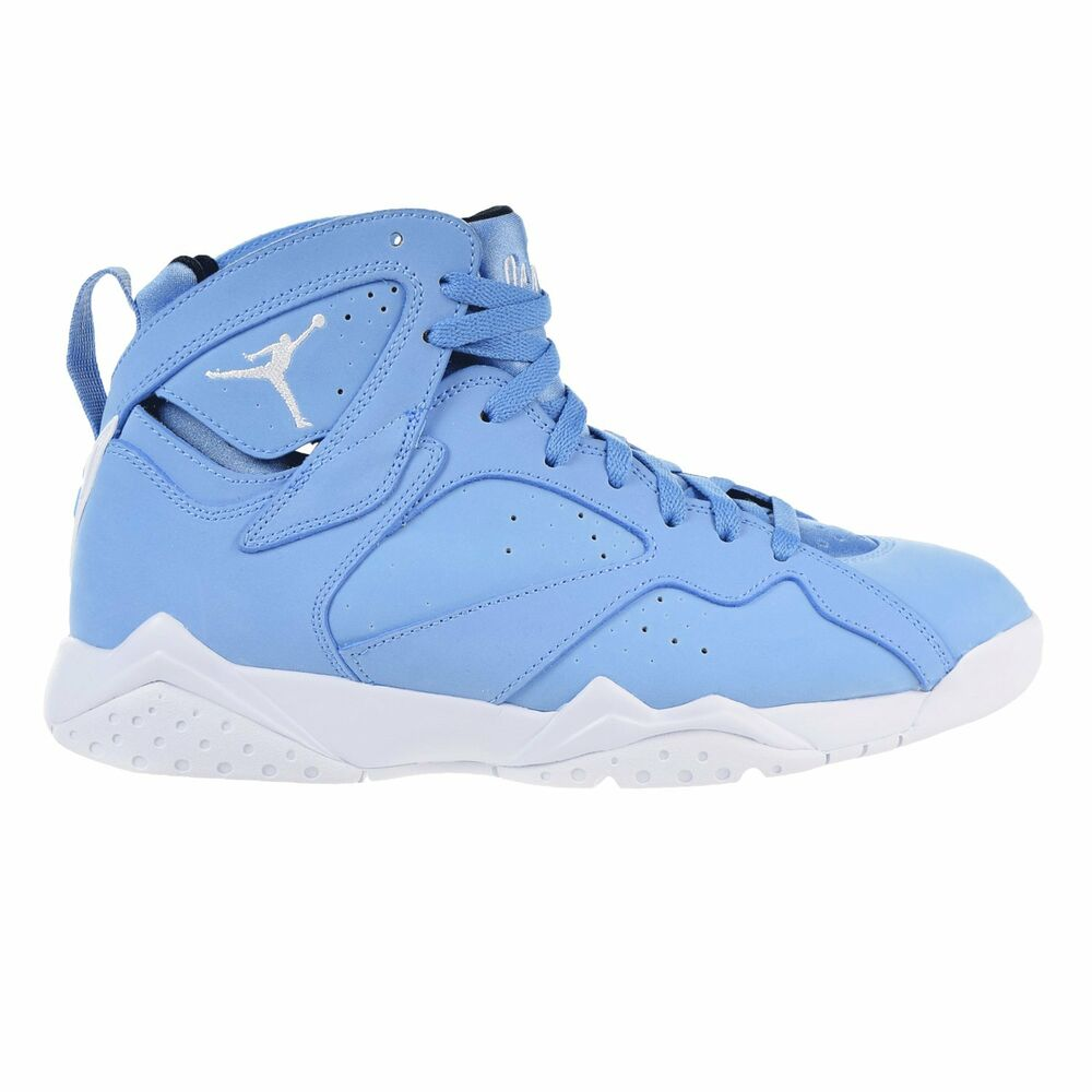 "Next To Real Retro S Fake Retro S: Air Jordan 7 Retro ""Pantone"" Men's Shoes University Blue"