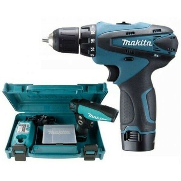makita df330dwe 10 8v li ion cordless drill driver full. Black Bedroom Furniture Sets. Home Design Ideas