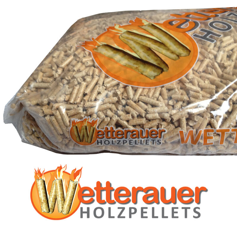 15 kg wetterauer holzpellets 1 sack pellets sackware. Black Bedroom Furniture Sets. Home Design Ideas