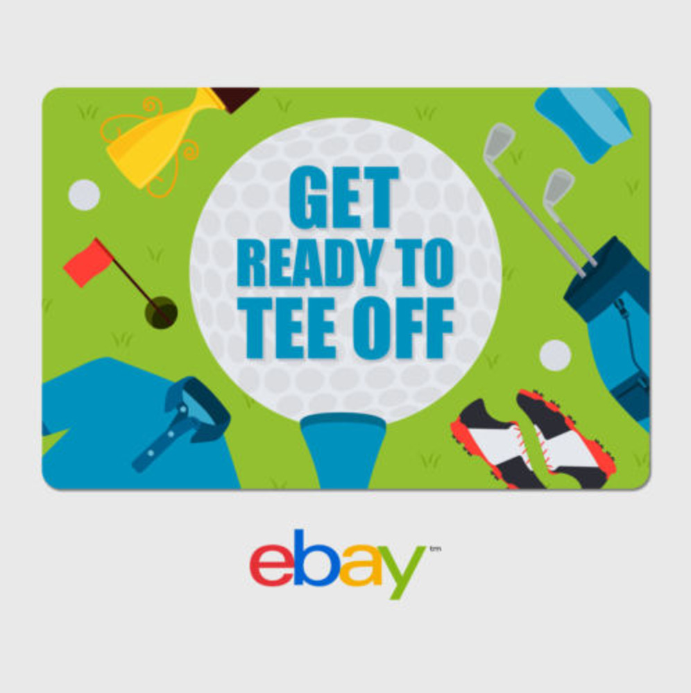 Ebay Digital Gift Card: EBay Digital Gift Card - Golf Tee Time - Email Delivery