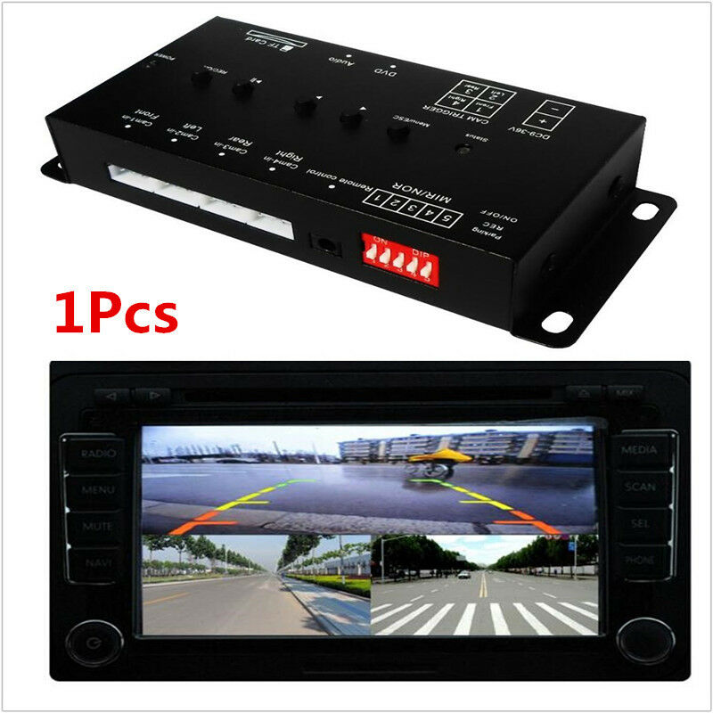 360° Car DVR Record All Round Rear View Camera System 120