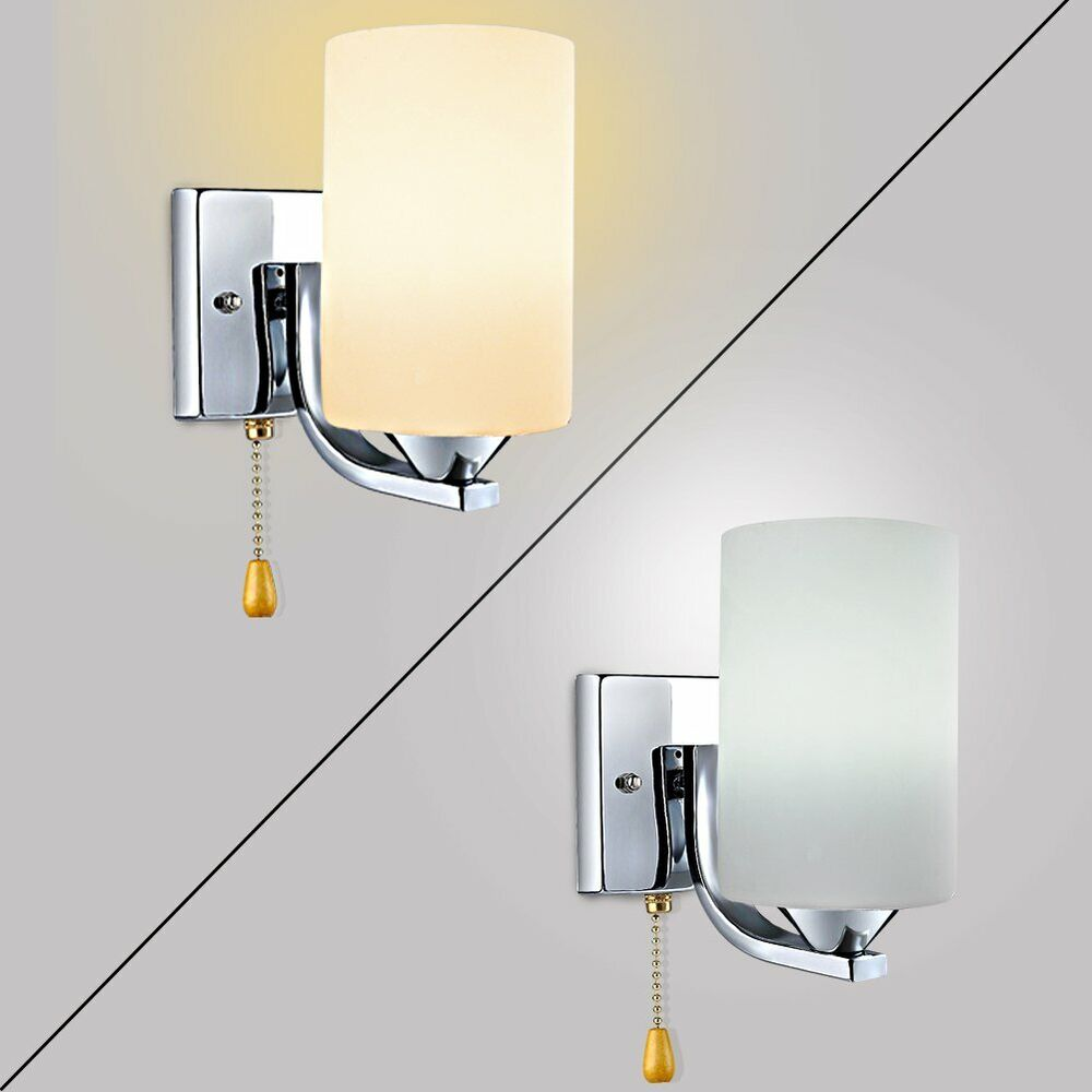 Indoor Wall Light: Modern Indoor Glass Wall Lights Sconce Lighting Wall Lamp