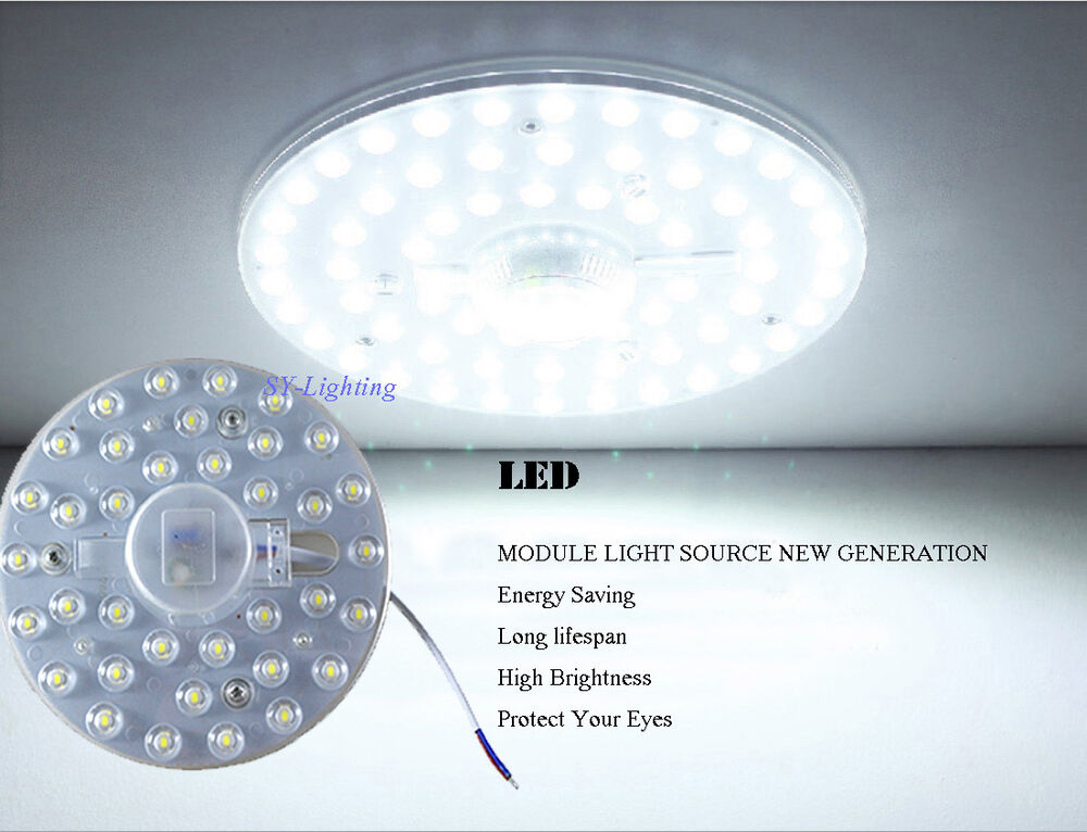 Round Pcb Board Led Module 12w 18w 24w 36w Replace Ceiling