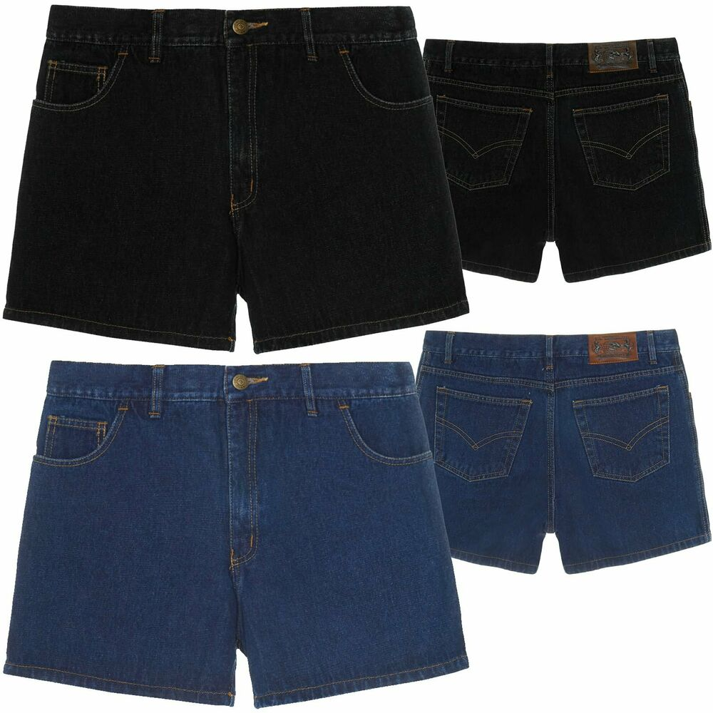 herren kurze hose denim jeans shorts bermuda capri vintage cargo sport 21306 ebay. Black Bedroom Furniture Sets. Home Design Ideas