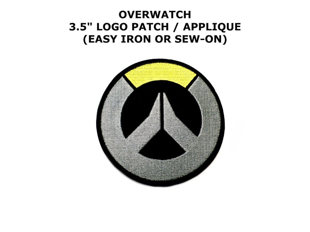 Overwatch Logo 131 Embroidered Licensed Iron Onsewn On 35 Patch