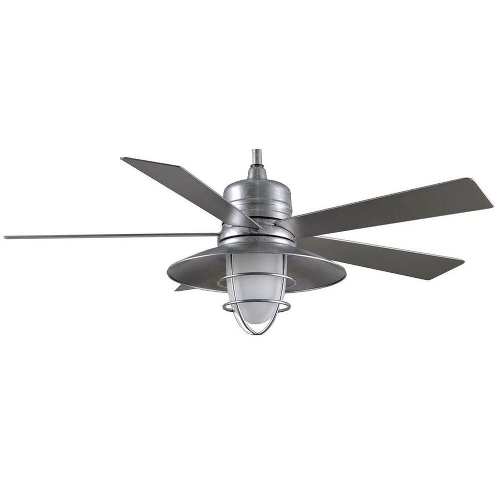 Grayton 54 In Galvanized Ceiling Fan Replacement Parts Ebay