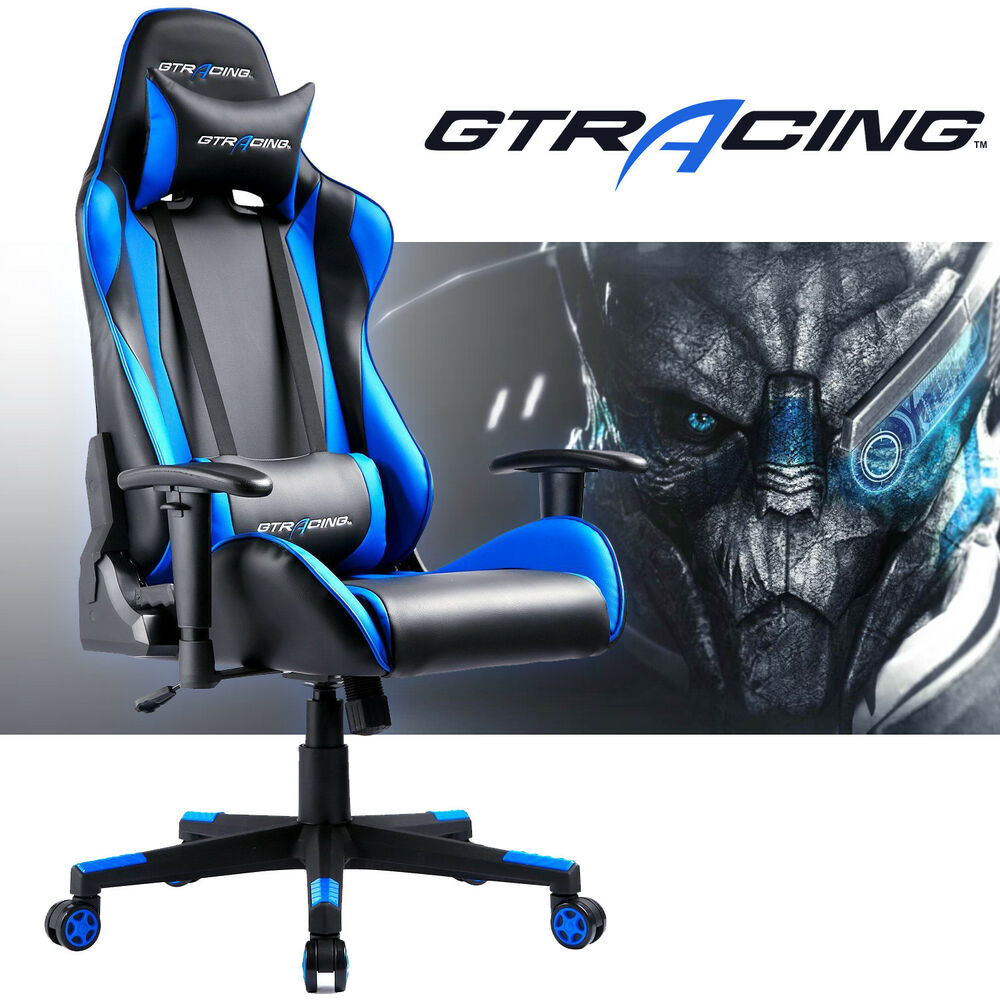 Gtracing Chair Executive Gaming Chair Leather High Back