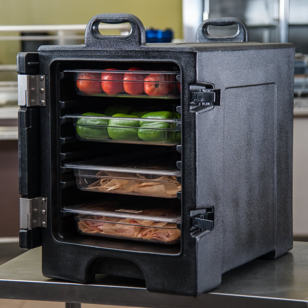 Industrial Food Container : Insulated catering hot cold chafing dish food pan carrier