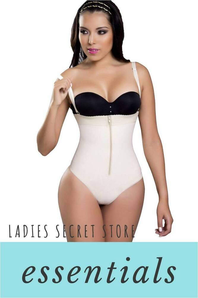 fe0d3928493 Details about Fajas Colombianas Ann Slim 2101 Powernet Body Strapless  Cuerpo perfecto