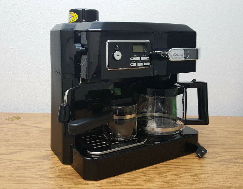 Delonghi Combi Coffee Maker Argos : Delonghi BCO320T Programmable Combination Coffee Espresso Latte Cappuccino Maker 44387003209 eBay