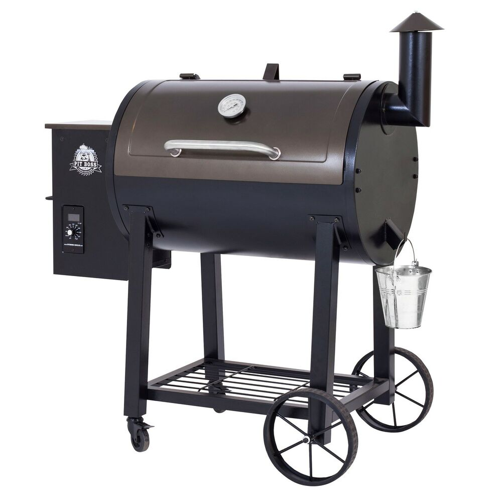 pit boss wood pellet grill smoker ebay. Black Bedroom Furniture Sets. Home Design Ideas