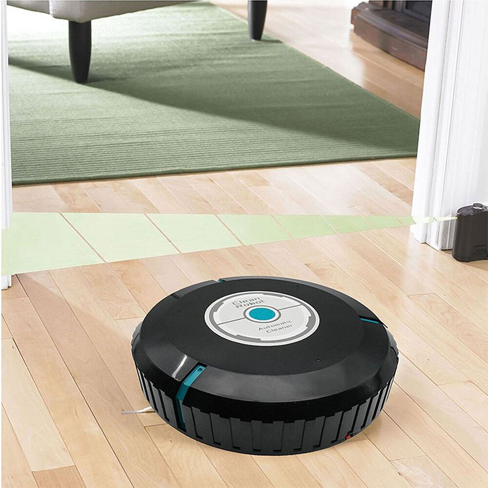 Portable Automatic Vacuum Cleaner Robot Floor Cleaning